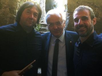 Meandre amb Ferran Mascarell | Homenatge al Dr. Antoni Ma. Badia i Margarit | Sant Privat de Bas | 17/10/2015